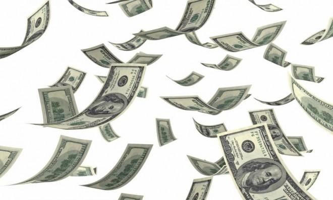 new, year's, resolution, money, budget