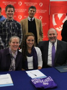 Mark Champion, Sarah Sermonet, Highpoint University