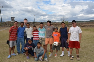 Mark Champion, Honduras, youth, soccer