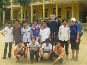 Mark Champion, Vietnam, youth, soccer